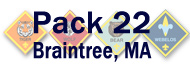 Pack 22 Braintree logo