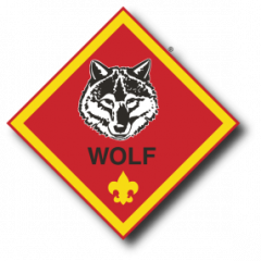 Wolf rank patch